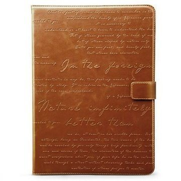 Google Nexus 7 Zenus Masstige Lettering Diary Case Brown