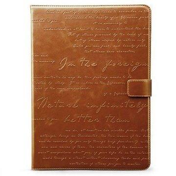 Google Nexus 7 Zenus Masstige Lettering Diary Case Brown