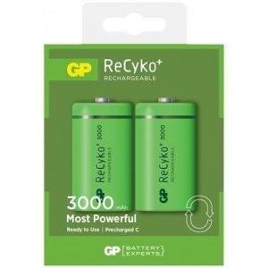 Gp Battery Recyko Lr14/c 2-pack
