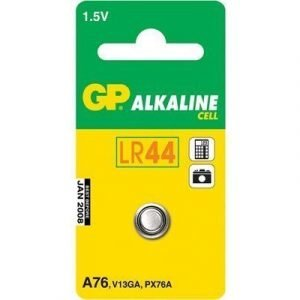 Gp Button Cell Battery Alkaline Lr44 1.5v