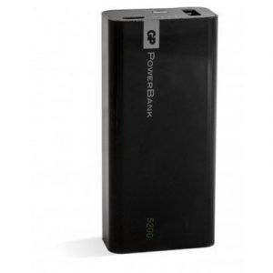 Gp Portable Powerbank 1c05a Yolo 5200mah Black