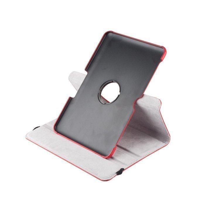 GreenGo 360 Pyörivä Samsung Galaxy Tab 3 10.1'' Suojakotelo punainen