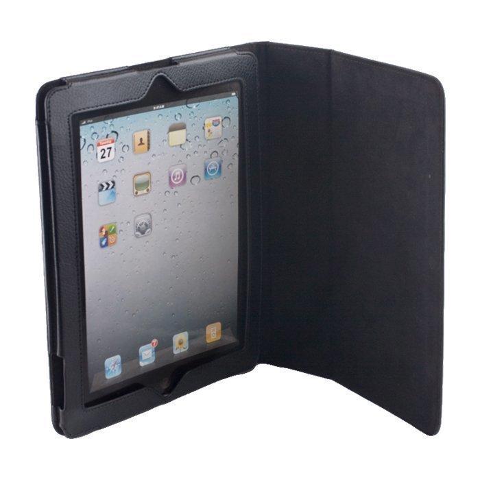 """GreenGo Samsung Galaxy Tab 2 10.1 suojakotelo - Laadukasta keinonahkaa - Musta"""""""