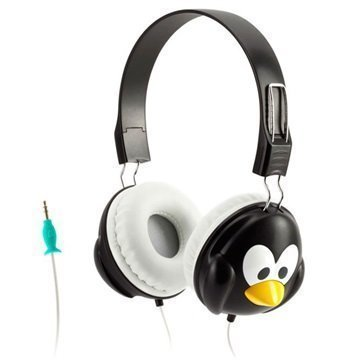 Griffin KaZoo MyPhones Kuulokkeet Pingviini Musta / Valkoinen