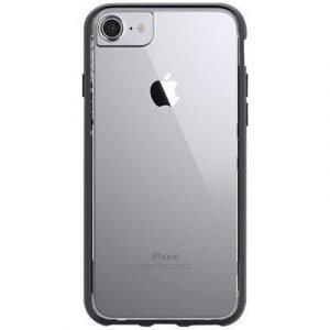 Griffin Reveal Ultra-thin Takakansi Matkapuhelimelle Iphone 7 Musta/kirkas
