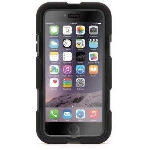 Griffin Survivor All-terrain Takakansi Matkapuhelimelle Iphone 6 Plus Musta