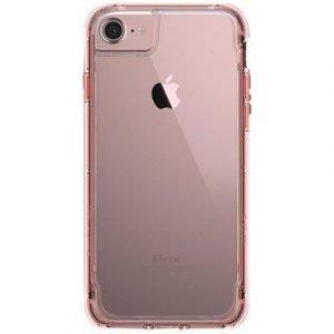 Griffin Survivor Clear Takakansi Matkapuhelimelle Iphone 7 Ruusun Kulta