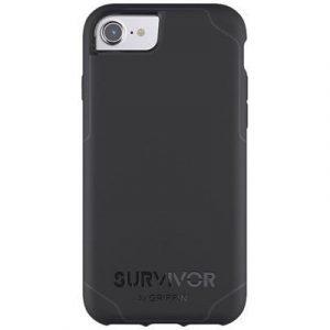 Griffin Survivor Journey Takakansi Matkapuhelimelle Iphone 7 Musta Tummanharmaa