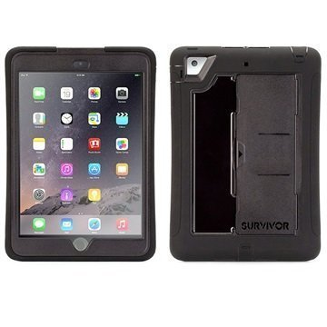 Griffin Survivor Slim Suojakuori iPad Mini iPad Mini 2 iPad Mini 3 Musta
