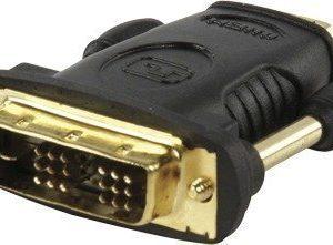 HDMI naaras / DVI-D uros