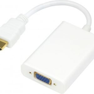 HDMI to VGA and sound adapter 1080p 0