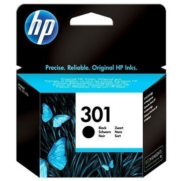 HP 301 Mustepatruuna Deskjet 1000 2540 AiO Officejet 2620 AiO Musta