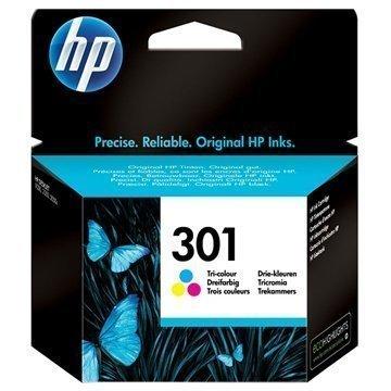 HP 301 Mustepatruunapaketti Deskjet 1000 1050 2540 AiO 3 Väriä