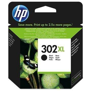 HP 302XL Mustepatruuna F6U68AE Musta
