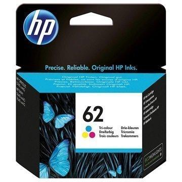 HP 62 Mustepatruuna Officejet 5740 Envy 5640 Envy 7640 3 Väriä