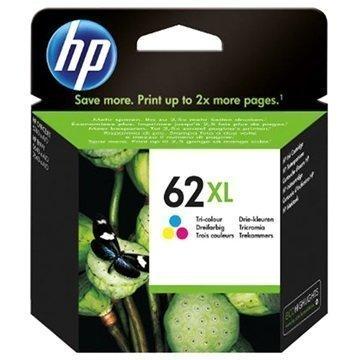 HP 62XL Mustepatruuna Officejet 5740 Envy 5640 Envy 7640 3 Väriä