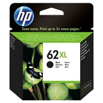 HP 62XL Mustepatruuna Officejet 5740 Envy 5640 Envy 7640 Musta