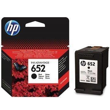HP 652 Mustepatruuna F6V25AE Musta