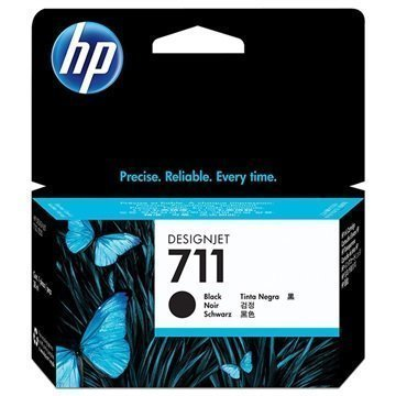 HP 711 Mustepatruuna CZ129A Musta