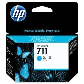 HP 711 Mustepatruuna CZ130A Syaani