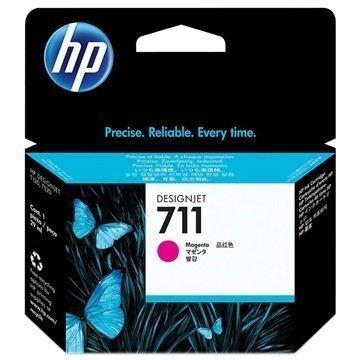 HP 711 Mustepatruuna CZ131A Magenta
