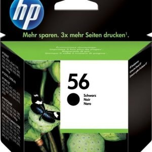 HP C6656AE nro 56 musta