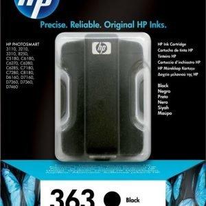 HP C8721EE Nr 363 musta