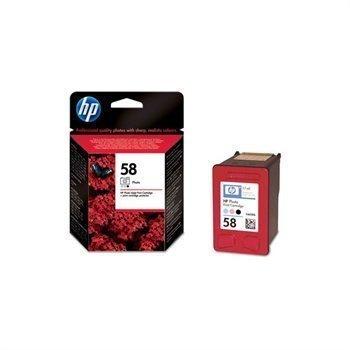 HP DESKJET 5550 NR. 58 Inkjet Cartridge C6658AE#301 Black Light Cyan Light Magenta