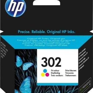 HP F6U65AE Nro 302 3-väri
