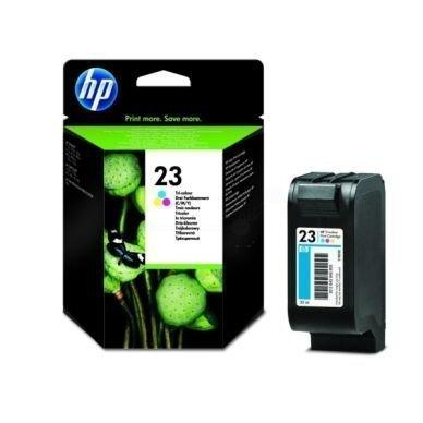 HP HP 23 -mustekasetti kolmivärinen alkuperäinen 300 sivua