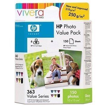 HP PHOTOSMART 8250 Q7966EE Inkjet Cartridge Black Cyan Magenta Yellow Light Cyan Light Magenta