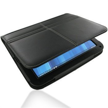 HP TouchPad PDair Leather Case 3BHPPABX1 Musta