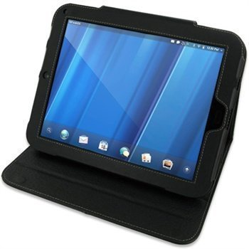 HP TouchPad PDair Leather Case 3BHPPABX2 Musta
