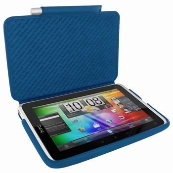 HTC Flyer Piel Frama iMagnum Nahkakotelo Sininen