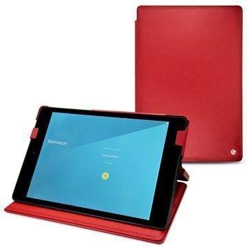 HTC Nexus 9 Noreve Tradition Nahkakotelo Perpétuelle Punainen