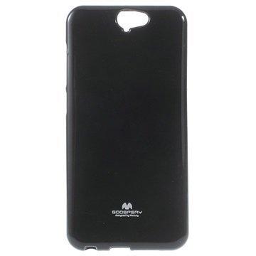 HTC One A9 Mercury Goospery TPU Kotelo Musta