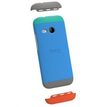 HTC One Mini 2 Double Dip Suojalevy HC C971 Sininen