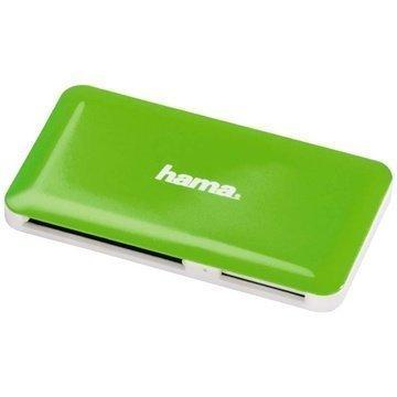 Hama 00114840 Slim Monikortinlukija Vihreä