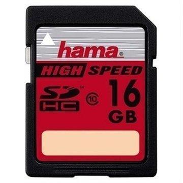 Hama HighSpeed Gold SDHC Muistikortti 16Gt