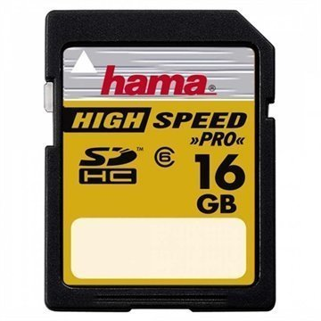 Hama HighSpeed SDHC Muistikortti 16Gt
