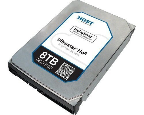Hgst Ultrastar He8 Huh728080al5200 8tb 3.5 Serial Attached Scsi 3