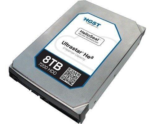 Hgst Ultrastar He8 Huh728080al5200 8tb 3.5 Serial Attached Scsi 3
