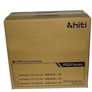Hiti Ribbon/paper 15x20 500 Prints P520l
