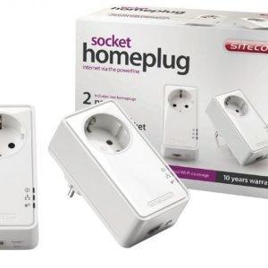 Homeplug 500 Mbps kaksoispakkaus