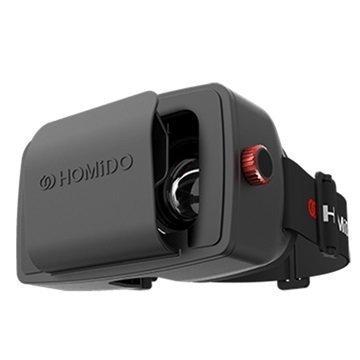 Homido Virtual Reality Lasit Musta