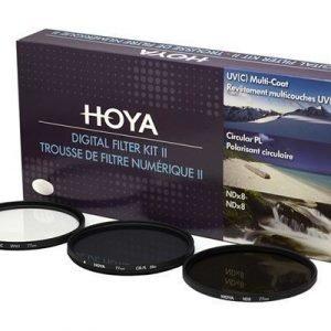 Hoya Filterkit Uv(c) Pol.circ. Ndx8 52mm