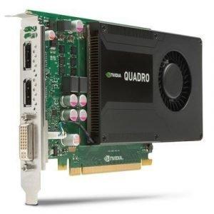 Hp Nvidia Quadro K2000 Näytönohjain