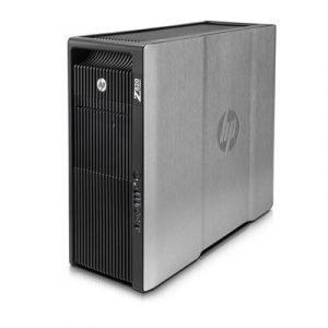 Hp Workstation Z820 Mt Xeon 2.6ghz 1269.76gb 16gb Ei Näytönohjainta