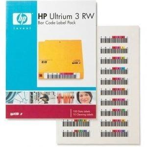 Hpe Ultrium 3 Rw Bar Code Label Pack