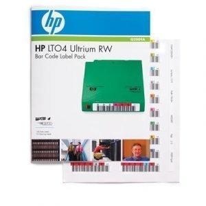 Hpe Ultrium 4 Rw Bar Code Label Pack